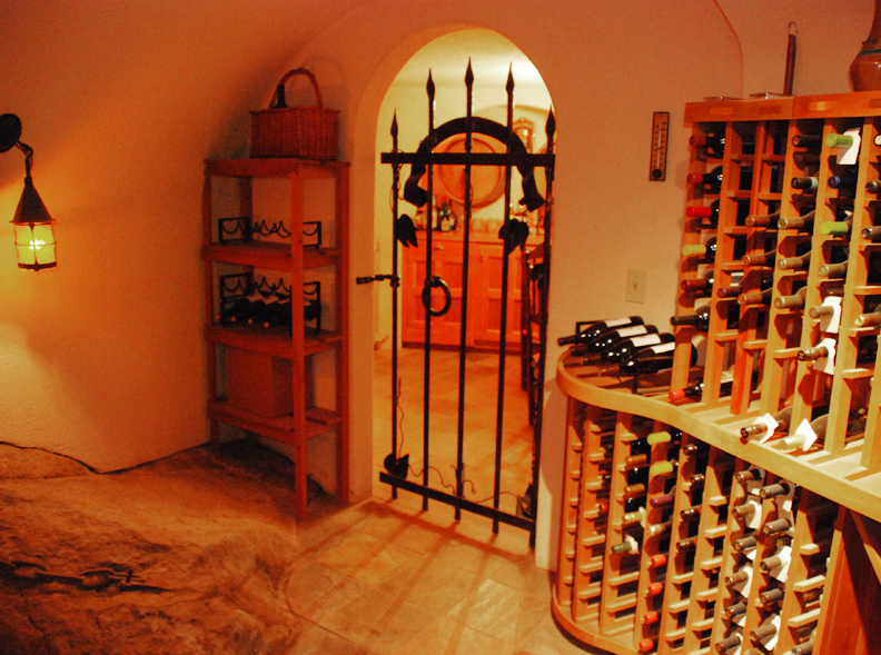 & Custom Wine Cellar Gates and Doors